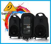 【小麥老師樂器館】Behringer 耳朵牌 PPA2000BT 攜帶式行動藍芽 PA 喇叭 (2000瓦) 附麥克風