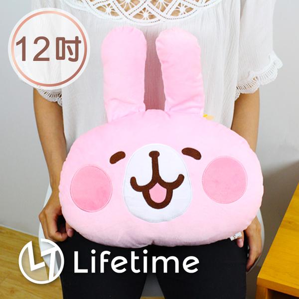 ﹝卡娜赫拉大頭抱枕12吋﹞正版絨毛娃娃 抱枕 靠枕 兔兔 P助 30cm〖LifeTime一生流行館〗B16148