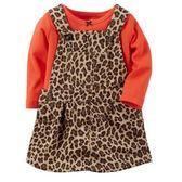 Carter's平行輸入童裝 女寶寶 長袖T恤上衣&吊帶裙 多色【CA121G108】