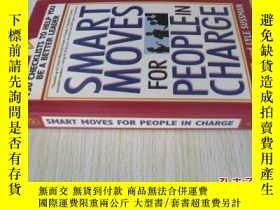 二手書博民逛書店英文原版罕見Smart Moves for People in Charge: 130 Checklists to
