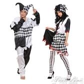 小丑表演服裝成人衣服套裝搞笑演出服萬聖節化妝舞會cos服男大碼
