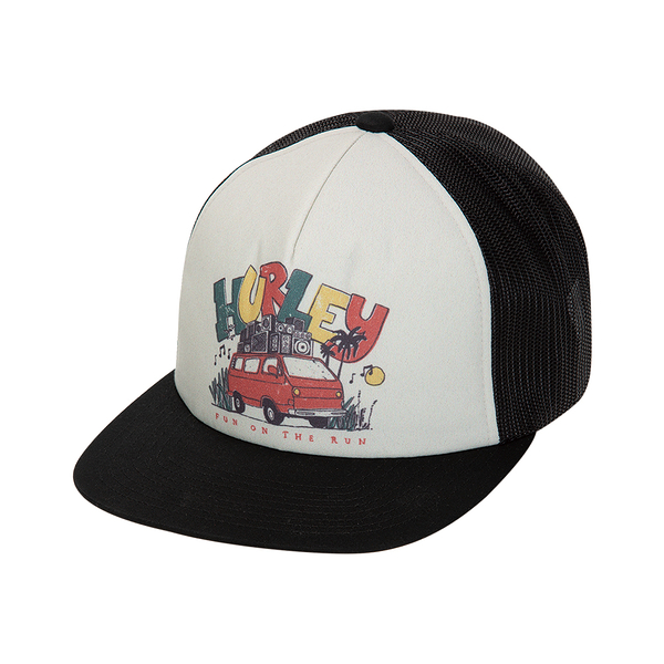 Hurley  M MIXTAPE 2.0 HAT BLACK  棒球帽-JAMAICA-(男/女)