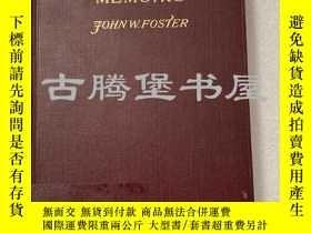 二手書博民逛書店1909年英文 罕見Diplomatic Memoirs Volume I 外交記憶Y183807 Foste