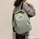 後背包 後背包女韓版高中森系少女尼龍旅游背包簡約休閒大學生書包女ins 美物