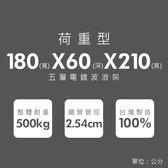 收納架/置物架/層架  荷重加強型180x60x210公分 五層架  dayneeds