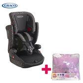 【送 寶寶樂透氣墊】Graco 嬰幼兒成長型輔助汽車安全座椅 AirPop - 繽紛彩