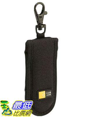 [105美國直購] Case Logic JDS-2 隨身碟保護套 收納包 USB Drive Shuttle 2-Capacity (Black)