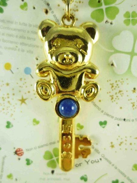 【震撼精品百貨】泰迪熊_Teddy Bear~造型鎖圈-金鑰匙