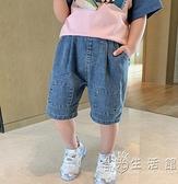 男童短褲夏季薄款寶寶五分褲外穿童裝洋氣小童牛仔褲夏裝兒童褲子 蘇菲小店