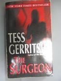 【書寶二手書T5/原文小說_HMV】The Surgeon_Gerritsen, Tess