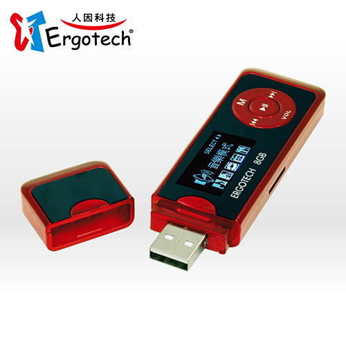 Ergotech 人因科技 UL432 草莓戀人MP3多功能隨身聽