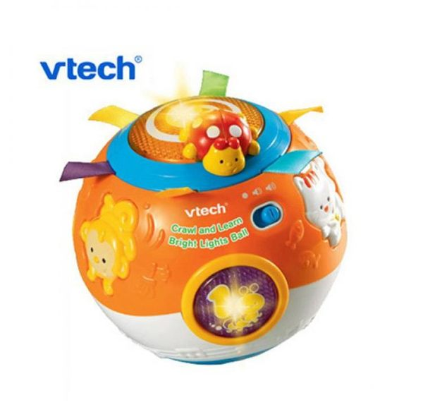 Vtech 炫彩聲光滾滾球