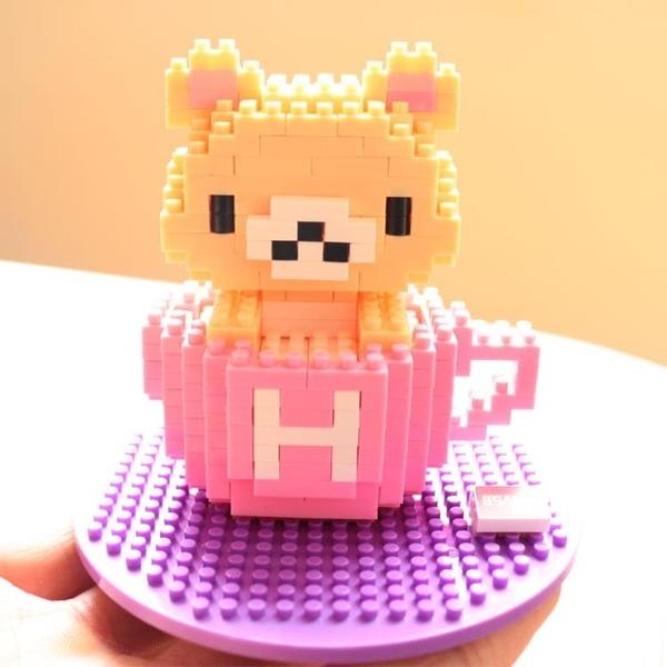 兒童女孩拼裝微型小顆粒鑽石積木益智玩具【聚寶屋】