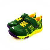 MOON STAR CARROT 魔鬼氈機能學步鞋 運動鞋《7+1童鞋》B460綠色
