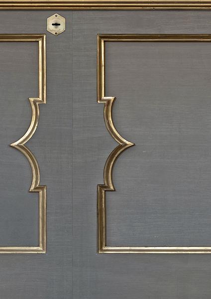 木紋 雕刻紋牆腰 仿真 荷蘭壁紙 NLXL CANE WEBBING / MRV-23
