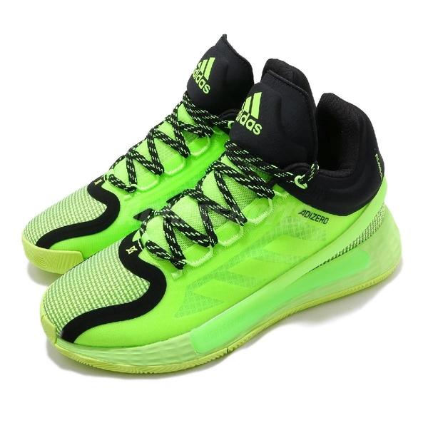 adidas 籃球鞋 D Rose 11 綠 黑 男鞋 運動鞋 飆風玫瑰 【ACS】 FU7405