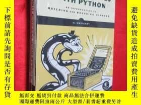 二手書博民逛書店Cracking罕見Codes with Python ( 小1