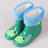 618好康又一發日式兒童雨鞋男童女童防滑「巴黎街頭」