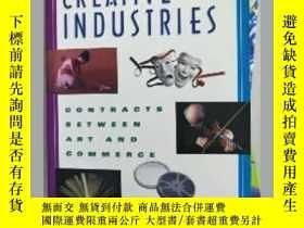 二手書博民逛書店~罕見!Creative Industries:Contracts between Art and Commerc