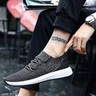 潮流男鞋子運動休閒鞋低幫帆布鞋男士透氣板鞋男潮鞋 【米娜小鋪】