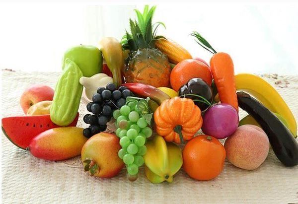 仿真水果假蔬菜塑料假水果模型早教玩具拍攝道具家居創意裝飾擺件