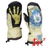 【 EX2 】滑雪連指手套『卡其』868041 休閒.戶外.保暖.保暖手套.絨毛手套.刷毛手套