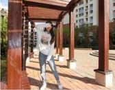 秋冬季薄款連帽T恤女韓版潮學生長袖寬鬆外套連帽衫 韓慕精品