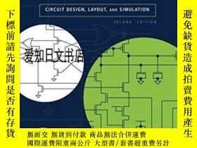 二手書博民逛書店【罕見】Cmos Circuit Design, Layout, And Simulation, Second E