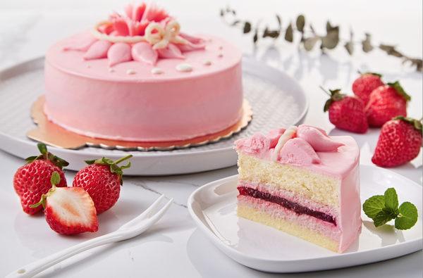 康鼎 法式草莓馬茲卡邦慕斯蛋糕