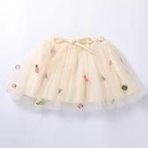 女童半身裙 女童半身裙公主裙寶寶紗裙兒童蓬蓬裙2020童裝夏裝韓版洋氣短裙子 小宅女