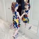 洋裝 女童洋裝夏裝2020新款兒童裙子夏季中大童無袖網紅公主裙超洋氣