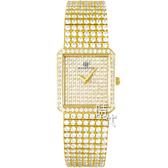 【台南 時代鐘錶 ROSDENTON】勞斯丹頓 星光大道 滿天星晶鑽時尚腕錶 21888MGB 金 24mm