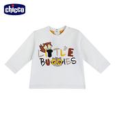 chicco-浣熊朋友-刺蝟長袖上衣