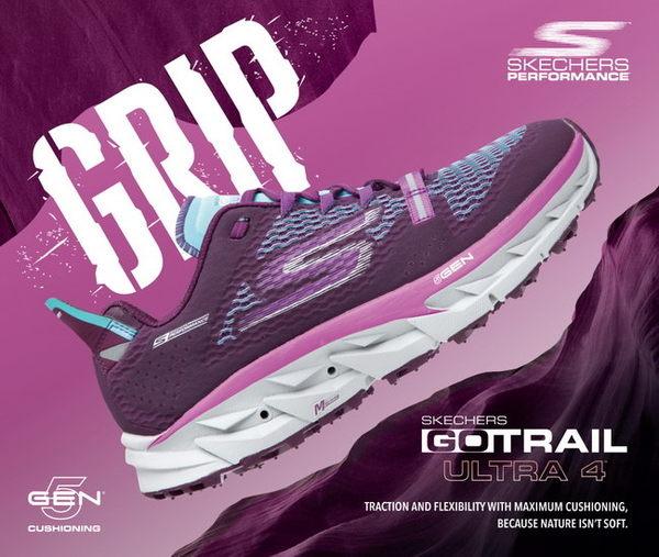 SKECHERS (男) 跑步系列 GO Trail Ultra 4 - 54111CCTL