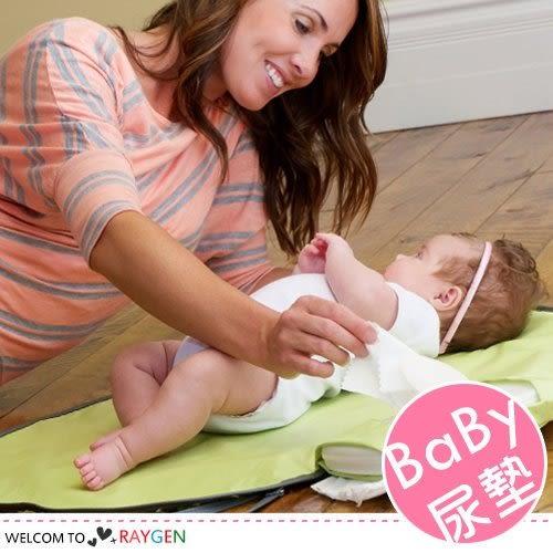 旅行外出便攜式寶寶折疊尿布包 隔尿墊