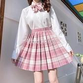 樹莓紅茶格裙jk制服裙正版一套甜美日系學生裝學院風套裝全套現貨 SUPER SALE 快速出貨