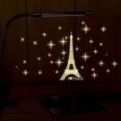 【收藏天地】創意生活*巴黎鐵塔星空夜光貼...
