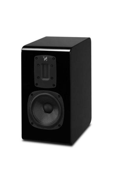 音響專賣店 新竹名展音響 英國QUAD S-2書架喇叭 絲帶高音鋼烤版/對