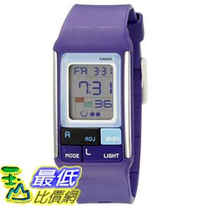 [美國直購] 手錶 Casio Kids LDF-52-6ADR Poptone Purple Multifunction Sports Watch