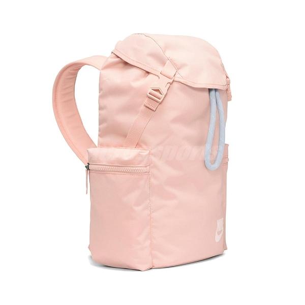 Nike 後背包 Heritage Backpack 粉紅 白 男女款 大容量 運動休閒 【ACS】 BA6150-664