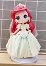 【震撼精品百貨】The Little Mermaid Ariel_小美人魚愛麗兒~日本迪士尼公主系列人偶擺飾-婚紗#35489