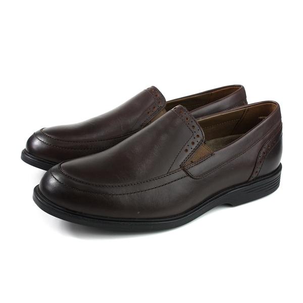 Hush Puppies 休閒鞋 皮鞋 牛皮 深棕色 男鞋 6201M134522 no187