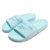 Reebok 拖鞋 RBK Fulgere Slide 藍 女鞋 運動拖鞋 涼拖鞋【ACS】 FY0048
