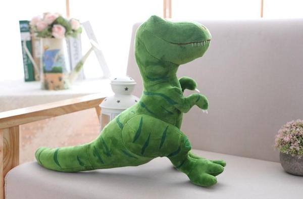 【25公分】露齒霸王龍抱枕 暴龍玩偶 絨毛娃娃 聖誕節交換禮物 教室布置 餐廳裝潢
