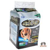 PAMDOGS幫狗適寵物竹炭尿布-厚型M號45x60cm(50入)