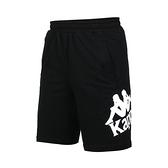 KAPPA 男針織短褲(純棉 台灣製 休閒 五分褲 免運 ≡排汗專家≡