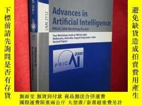 二手書博民逛書店Advances罕見in Artificial Intellig