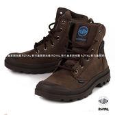 Palladium 新竹皇家 PAMPA CUFF 深咖啡色 防水系列 軍靴 皮質 高筒 男女款 NO.A9259