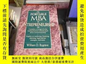 二手書博民逛書店The罕見Portable MBA in Entrepreneu