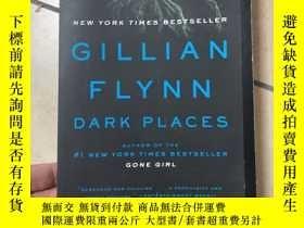 二手書博民逛書店Dark罕見places Gillian FlynnY23949